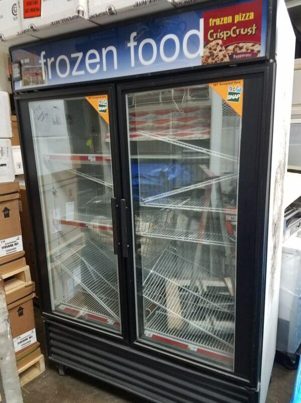 2 door freezer blow out sale true gdm-49f freezer