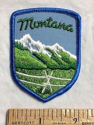 Montana Souvenir Embroidered Patch Badge