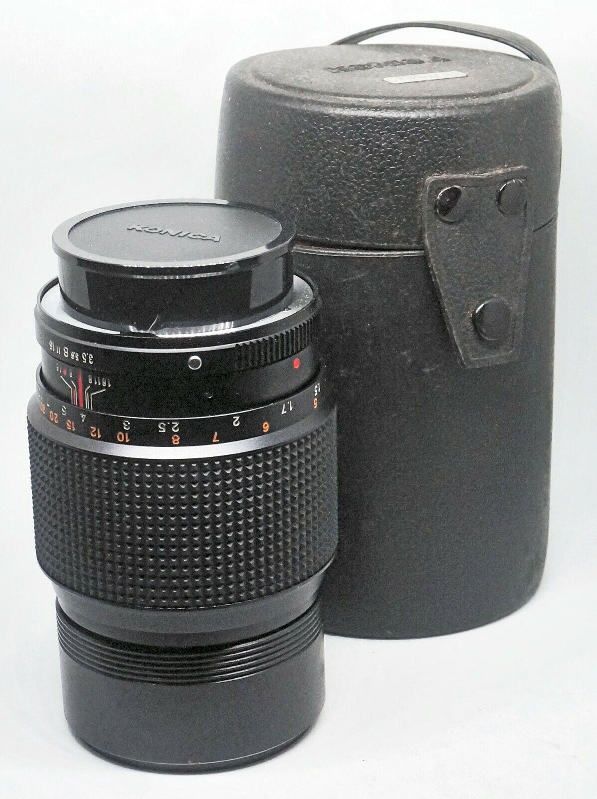 LENS For 35mm SLR Minolta MD Mount KONIKA HEXAR 3.5/135 VG PHL0020  - $30.00