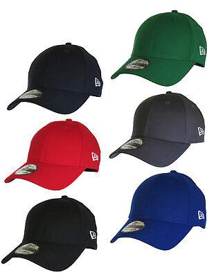 New Era 3930 Classic Curved Peak Stretch Fit Baseball Cap