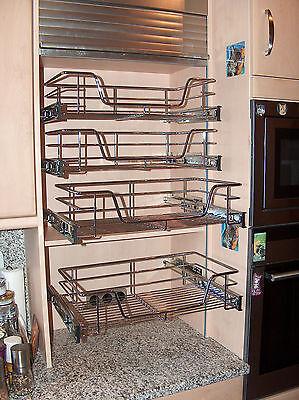 TELESKOPAUSZUG für Hängeschränke, Tiefe 27cm, Küchenschublade