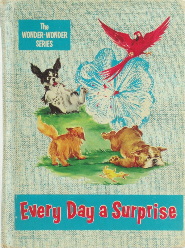 Vintage Reader EVERY DAY A SURPRISE Cocker Spaniel BULLDOG Cats