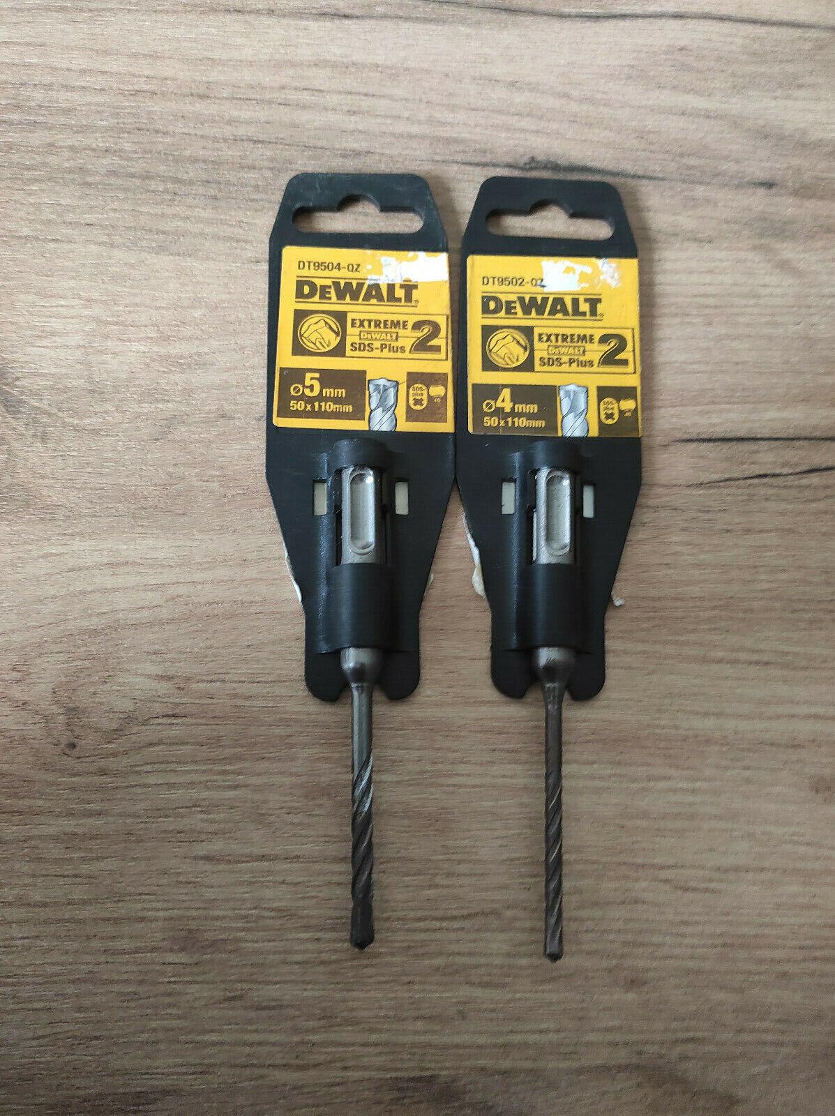 DEWALT DT9504/9502 Drill Bit 5/4MM 50x100MM(2PCS)