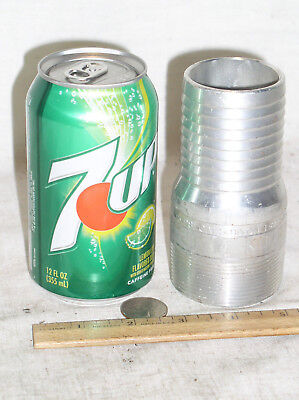 1 Dixon Aluminum 2 Inch Thread M Male Mip Ins Push On Hose Barb Fitting Coupling