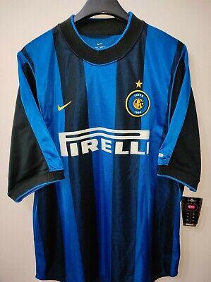INTER MILAN 2000-2001 BNWT Pirelli camiseta shirt trikot maillot maglia