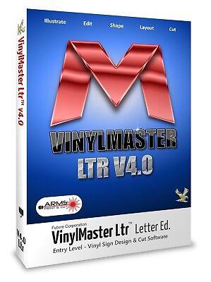 Software Wide Format Cutters Sign Lettering Vinylmaster Ltr Sign Making Program
