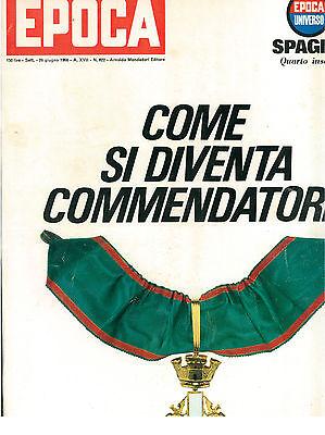 EPOCA N. 822 26 GIUGNO 1966 CALCIO MONDIALI INGHILTERRA FIGURINE BRIGITTE BARDOT