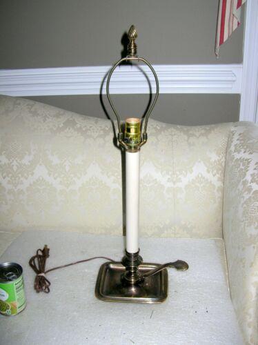 BRASS CHAMBERSTICK LAMP