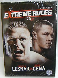 WWE Extreme Rules 2012 (Brock Lesnar vs John Cena) - NEW & SEALED