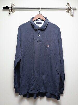 Vintage Tommy Hilfiger Signature Collection LS Button Up Crest Polo Shirt XXL