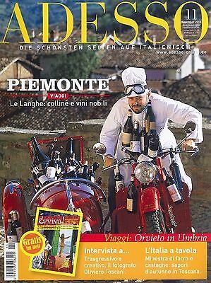 ADESSO Heft November 11/2010 inkl. evviva! - Italienisch-Magazin +++ wie neu +++