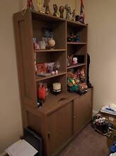 FREE solid wooden cabinet with sliding drawers Rydalmere Parramatta Area Preview