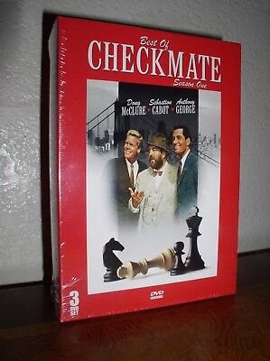Best of Checkmate Season 1 (DVD, 2008, NEW)