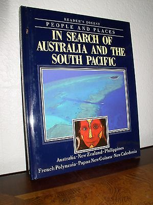 Readers Digest People   Places  In Search Of Australia   South Pacific  Hc 1994