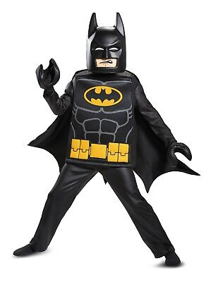 New Batman ( Movie ) Lego Deluxe Child Costume by Disguise 23730 Costumania - Kids Couples Costumes