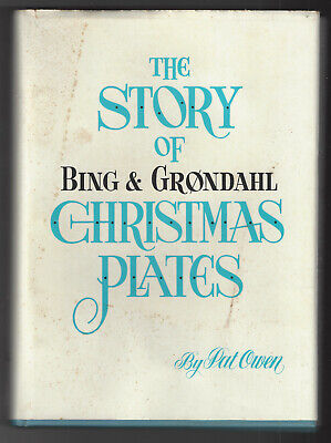 THE STORY OF BING & GRONDAHL CHRISTMAS PLATES  Loose Leaf Hdbk Autographed 1962 ()