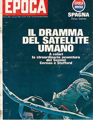 EPOCA N. 821 19 GIUGNO 1966 CALCIO MONDIALI INGHILTERRA FIGURINE RITA PAVONE