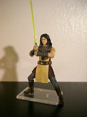 """Star Wars Custom Figure 3.75"""" Realistic Clone Wars Jedi Knight Quinlan Vos"""
