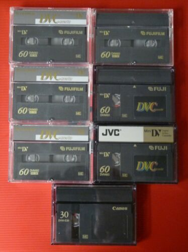 MiniDV Video Tapes.  Qty-12 Total Tapes