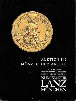 LANZ AUKTION 102 Katalog 2001 Kelten Griechen Römer Byzanz Völkerwanderung ~
