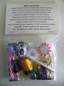Nurse Survival Kit * 10 items  inside - Novelty gift