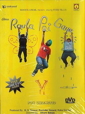 RAULA PAI GAYA - FUN UNLIMITED - ORIGINAL PUNJABI DVD - FREE POST