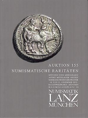 LANZ AUKTION 155 Katalog Antike Mittelalter Friedinger Pranter Brakteaten ~C3