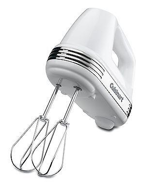 مضرب يدوي جديد Cuisinart HM-50 Power Advantage 5-Speed Hand Mixer White