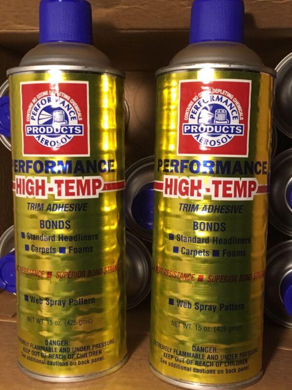 Performance HIGH TEMP Trim Adhesive HEADLINERS Carpet UPHOLSTERY Glue BOAT Auto