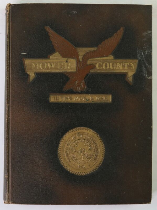 Mower County Minnesota Austin Adams Dexter MN WWI Veteran Biography History Book