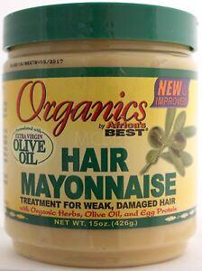 organics by africas best hair mayonnaise mayo damaged hair