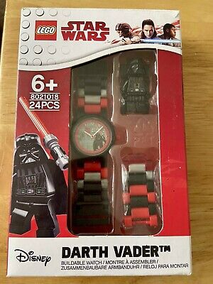 Lego Star Wars Darth Vader Buildable Minifigure Watch - New