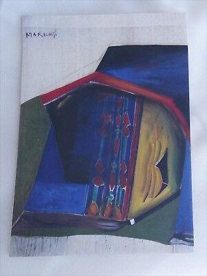 MARKUS LUPERTZ Art Gallery Announcement Piece ZELT Georg Baselitz, A.R. Penck