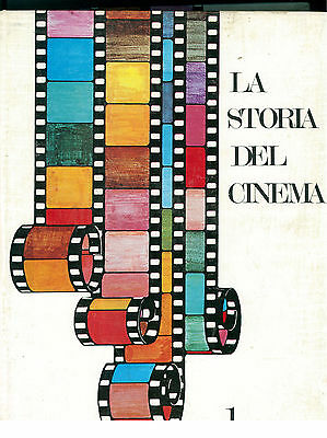 LA STORIA DEL CINEMA 4 VOLUMI VALLARDI 1966