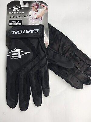 Easton Typhoon black Adult Batting Gloves Small