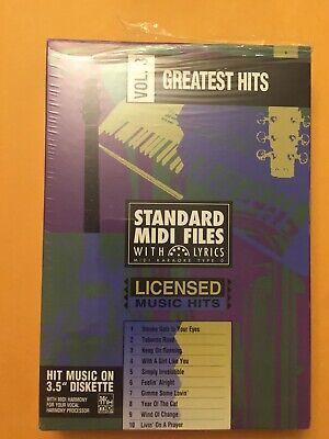 STANDARD MIDI FILES WITH LYRICS - Vol 3 Greatest Hits - 3.5 (Midi Files Lyrics)