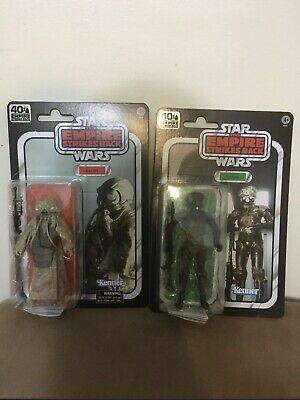 Star Wars Black Series BOUNTY HUNTERS 40th Anniversary 4-LOM & ZUCKUSS Amazon 6""