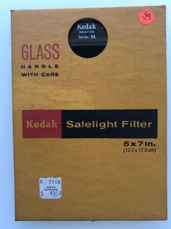 Kodak Safelight Filter Wratten Series 0A (OA)