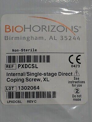 Biohorizons Pxdcsl Internal Single Stage Direct Coping Screwxl