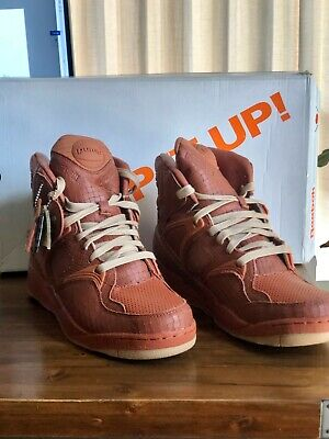 - New Reebok The Pump Certified X Social Status Ginger/Canvas Super Rare 8 READ