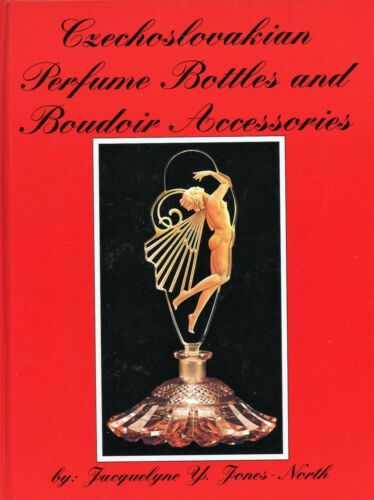 Czechoslovakian Boudoir Art Glass - Perfume Bottles Boxes Etc. / Book + Values