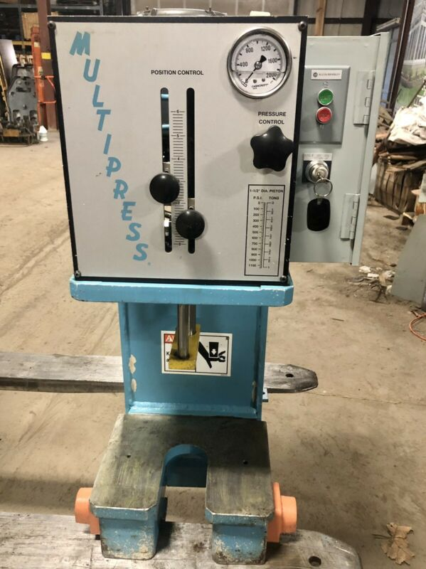 Multipress W6A-1 Hydraulic Press