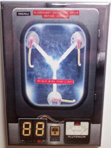 "Back to the Future 2"" x 3"" Refrigerator Locker MAGNET Lloyd Fox Flux"