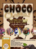 Chocochella ! Pop up shop , everything chocolate !