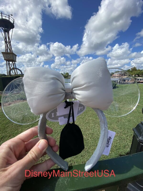 Disney Parks 2021 Epcot Spaceship Earth Light Collection Minnie Ears Headband