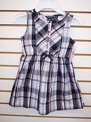 Girls Nautica $34.50 Plaid Dress Size 4 - 6