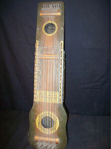 antique vintage ukelin cs hawaiian art violin lap guitar good shape ebay. Black Bedroom Furniture Sets. Home Design Ideas