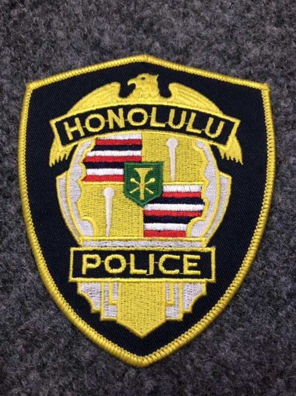 Honolulu Police patch PD Hawaii