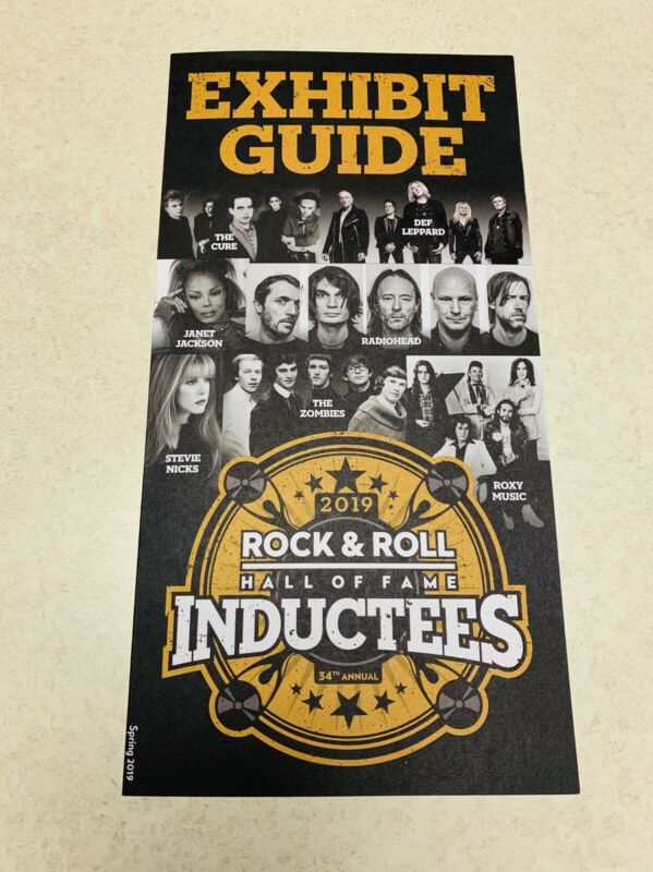 Rock n Roll Hall Of Fame 2019 Cure, Stevie Nicks, Roxy Music Def Leppard 3 Total