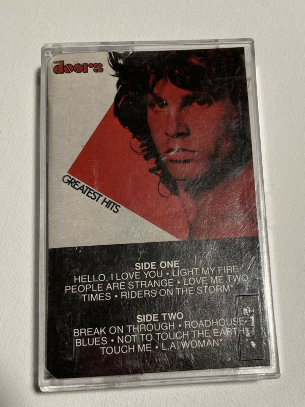Used the doors greatest hits cassette 1980 Elektra Records